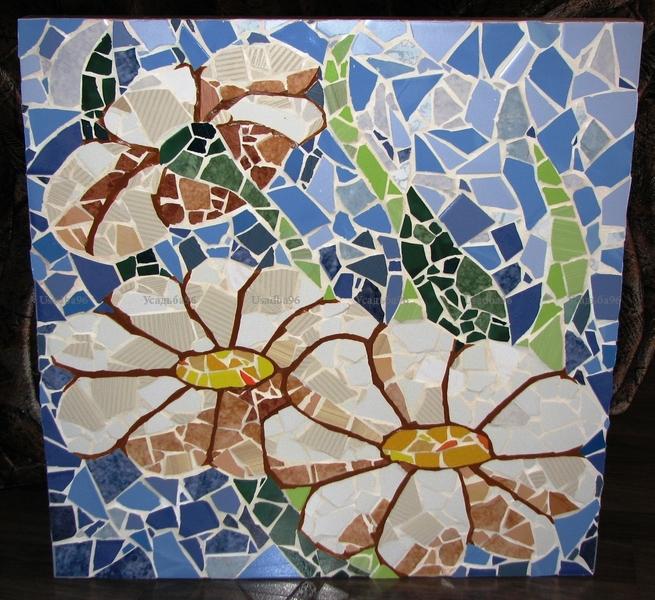 Панно своими руками мозаичное