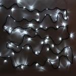 Гирлянда электрическая LED 200 внешняя (белая), (15м)