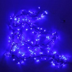 Гирлянда электрическая LED 200 Фейерверк, синий с удлинит. (LDF C200-B-E)