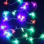 Серпантин Гирлянда электрическая LED Н 32 Олень RG\RB, 5,5м