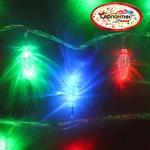 Серпантин Гирлянда электрическая LED H 50  Шишка витая RG/RB,  7 м, пр/пр