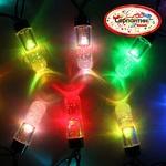 Серпантин Гирлянда электрическая LED H 20 сосульки RGB, 5м, черн провод