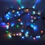 Серпантин Гирлянда электрическая LED 400 внешняя (RGB), (25 м) авторежимы