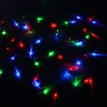 Серпантин Гирлянда электрическая LED Нить 300, RG\RB 24м, прозр.провод