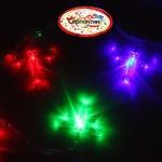 Серпантин Гирлянда электрическая LED H 20 Стрекоза, RG/RB, 5,5 м, пр/пр авторежимы