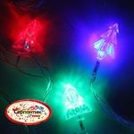 Серпантин Гирлянда электрическая LED H 32 Елка, RG/RB,  5м