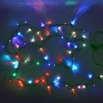 Гирлянда электрическая LED 200 внешняя (RGB), (15 м)