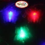 Серпантин Гирлянда электрическая LED H 32 Бабочка, RG/RB, 5,5 м, пр/пр авторежимы