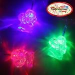 Серпантин Гирлянда электрическая LED H 20, Дед Мороз, RG/RВ, 5,5 м, пр/пр авторежимы, удл