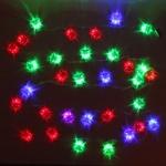 Серпантин Гирлянда электрическая LED Н 32 Ёлочка большая (RG\RB) 5,5м