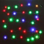 Серпантин Гирлянда электрическая LED H 32 Бабочка акрил    RG\RB,5,5м