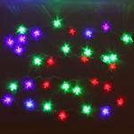 Серпантин Гирлянда электрическая LED Н 32 Звезда акрил RG\RB, 5,5м
