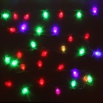 Серпантин Гирлянда электрическая LED Н 32  Ёлочка пушистая RG\RB, 5,5м