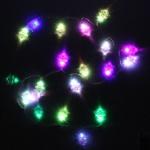 Серпантин Гиpлянда на батарейках 3хАА LED 20 Н Ёлочка RGB, 2м, авторежимы