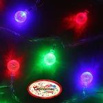Серпантин Гирлянда электрическая LED H 32 Шарики  , RG/RB, 5,5 м, пр/пр авторежимы