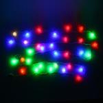 Серпантин Гирлянда электрическая LED Н 32 Шишка матовая  RG\RB, 5,5м