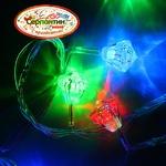 Серпантин Гирлянда электрическая LED H 50 Кристалл  , RG/RB, 7 м, пр/пр