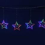 Серпантин Гирлянда электрическая LED Бахрома 80 (1,5х0.5м) Звезда (RG\RB) 8шт