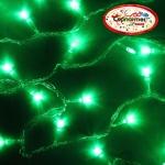 Серпантин Гирлянда электрическая LED H 100 зеленый, 9,5м, контр,прозр провод, уд, Стандарт