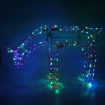 Серпантин Фигура LED Дюралайт Олень 1м х1,15 м RG/RB