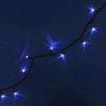 Серпантин Гирлянда электрическая LED 240 белые, 20м, 8 режимов,  зел.шнур к/к