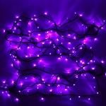 Гирлянда электрическая LED 200 внешняя (фиолетовая), (15 м)