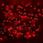 Серпантин Гирлянда электрическая LED 400 внешняя (красных), (25 м) 8 режимов