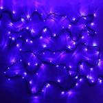 Серпантин Гирлянда электрическая LED 400 внешняя (синих), (25 м) 8 режимов