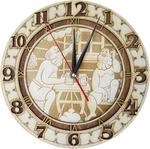 Часы для бани резные ЧРГ -3 М