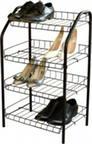 Этажерка для обуви разборная, 4 полки (НИКА)