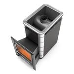 Печь банная (каменка) Ангара 18  ВИТРА Антрацит (Термофор)