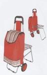 Сумка-тележка со стульчиком ST-837