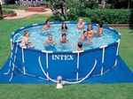 Бассейн каркасный Metal Frame 457*107 (28234)  INTEX (54940)