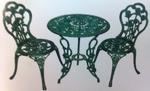 Стол садово-парковый чугунный *Женева*