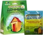 Биосостав *Дачный* для дачных туалетов и выгребных ям, 100 гр