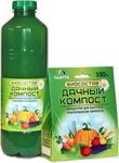 Биосостав *Дачный-Компост-Жидкий* для ускорения компостирования, 1 л