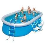 Бассейн каркасный Oval Fast Set Pool Set 488*305*107 см  56269 Bestway