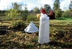 Каркасное укрытие для зимующих растений КУ-7|0,6|10