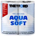 Бумага для биотуалетов Aqua Soft, 4 рулона
