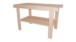 Стол с полкой, материал липа,  1500*730*630 см