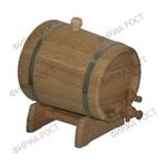 Жбан 15 литров на подставке (дуб)